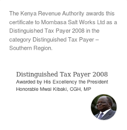 Distinguished taxpayer